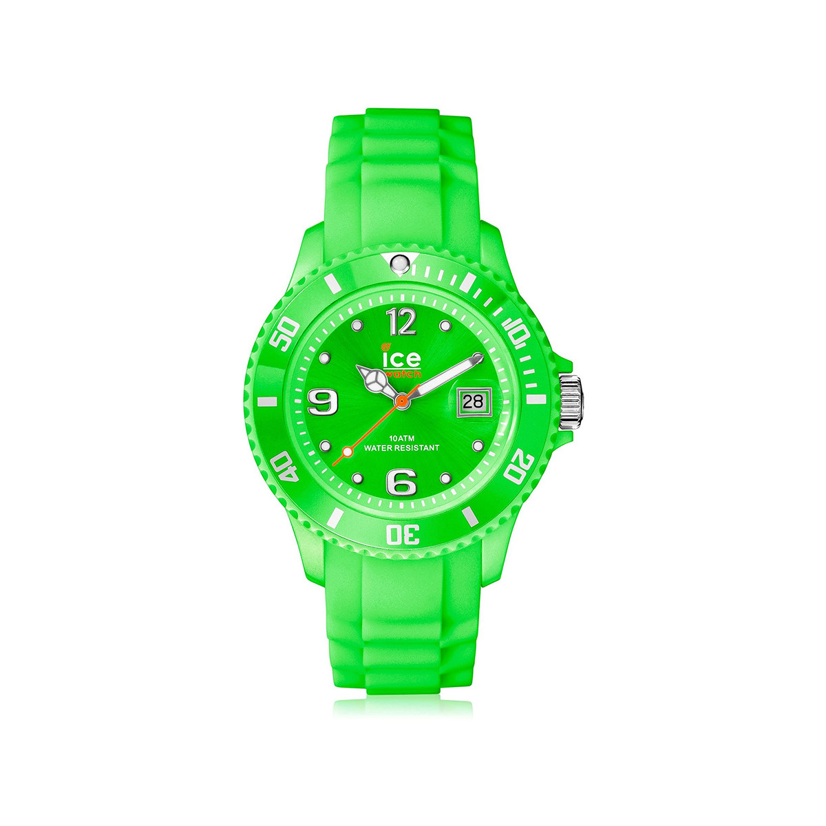 Montre Ice Watch mixte plastique silicone vert