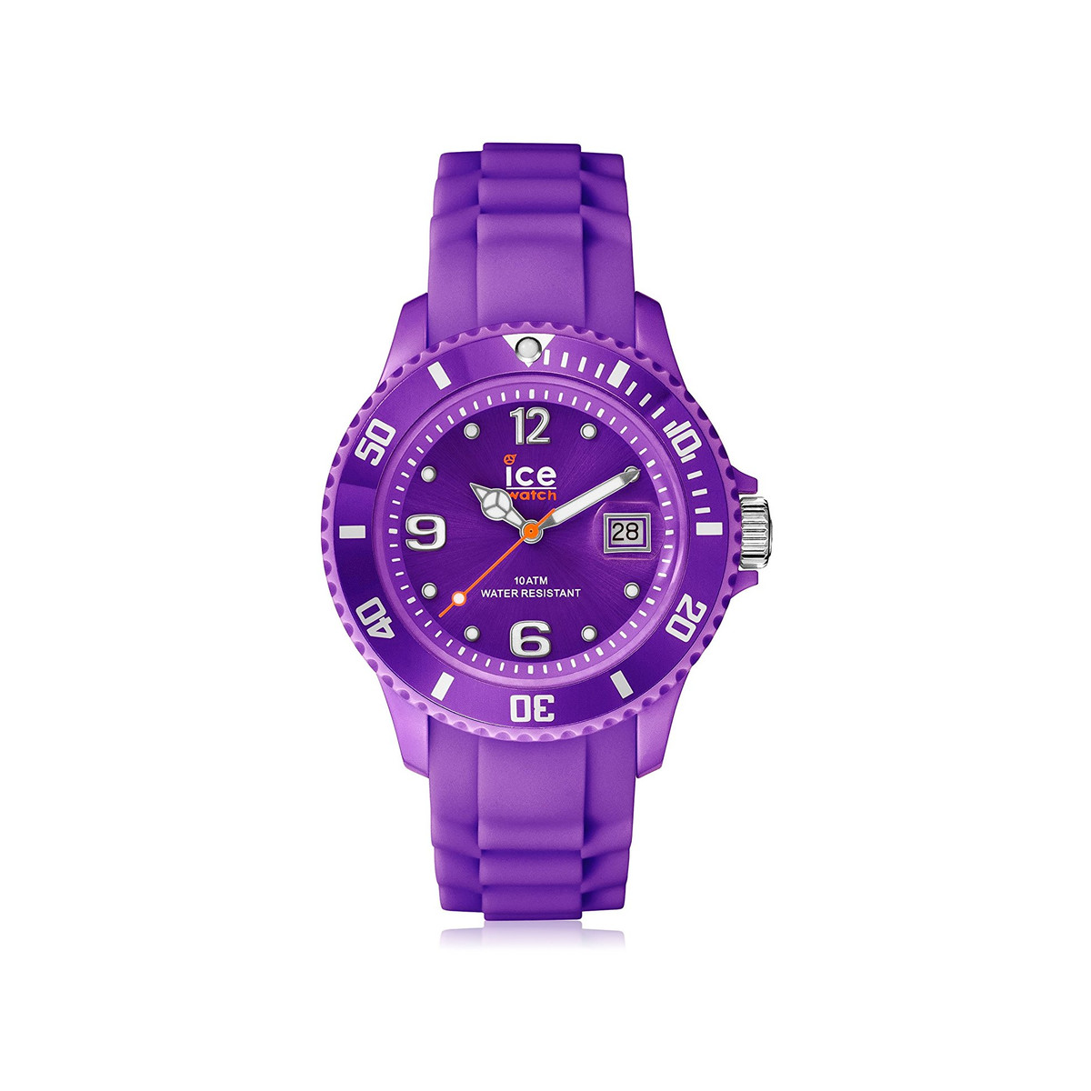 Montre Ice Watch mixte plastique silicone violet - vue 1