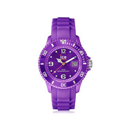 Montre Ice Watch mixte plastique silicone violet