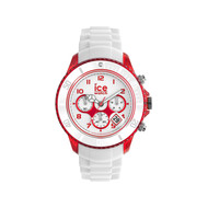 Montre Ice watch unisex chronographe blanc