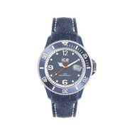 Montre Ice Watch mixte textile bleu
