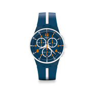 Montre Swatch Whitespeed mixte chronographe