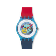 Montre Swatch Color my lacquered mixte plastique
