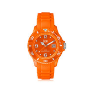 Montre Ice Watch mixte plastique silicone orange