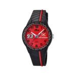 Coffret Montre Lotus junior noir rouge