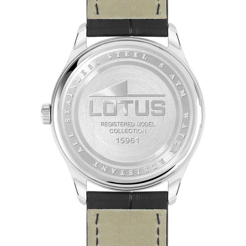 montre lotus homme bracelet cuir
