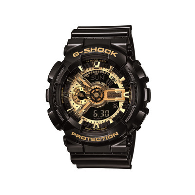 montre casio g shock homme r sine noire homme mod le ga 110gb 1aer maty. Black Bedroom Furniture Sets. Home Design Ideas