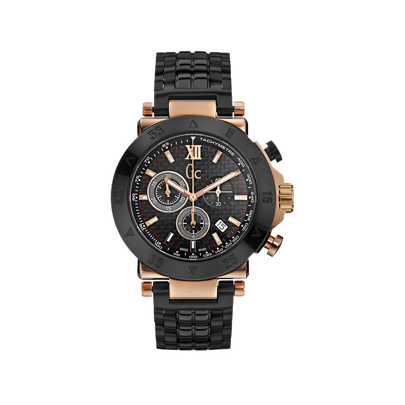 Montre Guess Collection homme chronographe acier