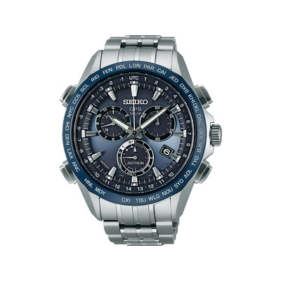 montre seiko astron gps solaire chronographe homme. Black Bedroom Furniture Sets. Home Design Ideas