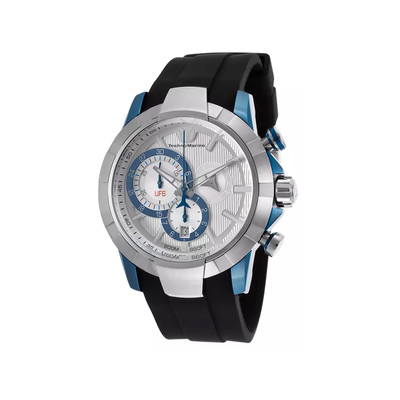 Montre Technomarine homme f6 chrono chrystal blue
