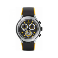 Montre Swatch Bee-droid chrono mixte silicone