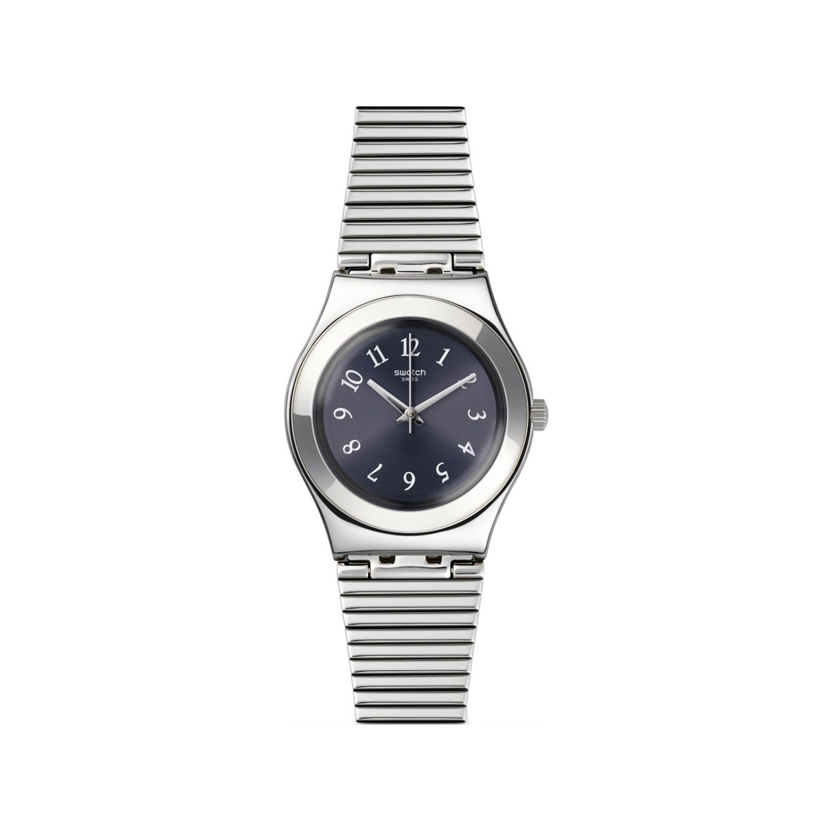 Montre Swatch Starling mixte acier extensible