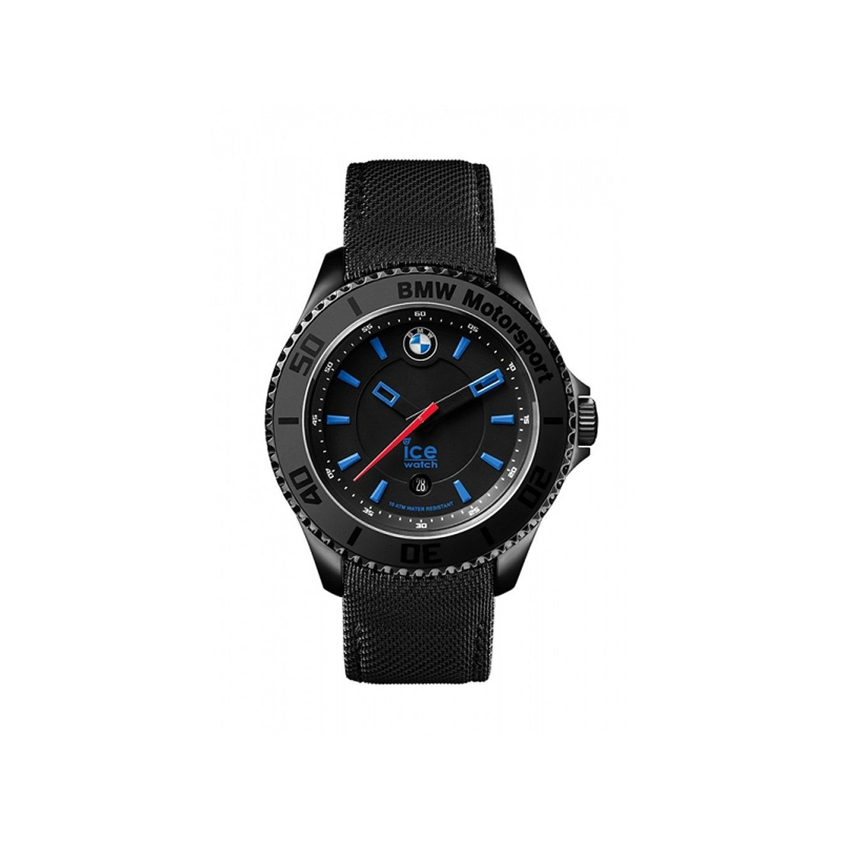 Montre Ice Watch BMW Homme noir cuir