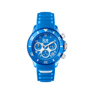 Montre Ice watch homme silicone bleu
