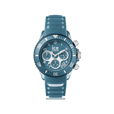 Montre Ice Watch Homme silicone bleu stone