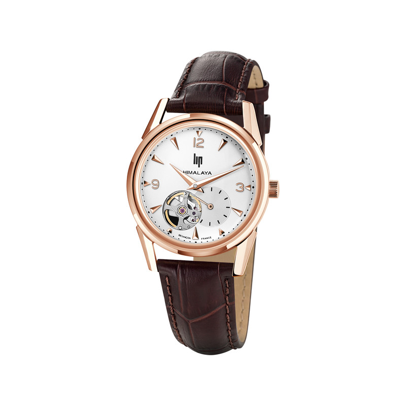 Montre Lip mixte automatique cuir