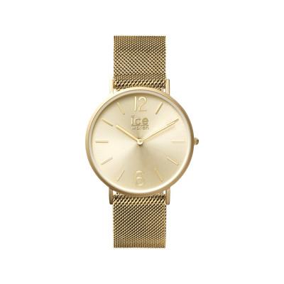 Montre Ice Watch Mixte Acier Dore Femme Homme Modele 012706 Maty