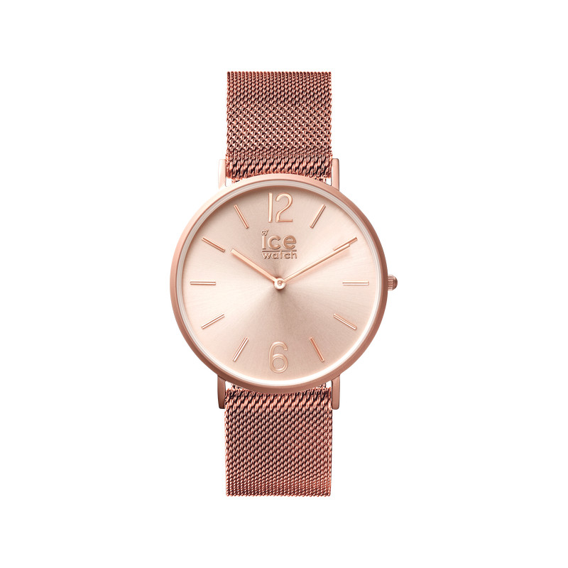 Montre Ice Watch mixte acier rose