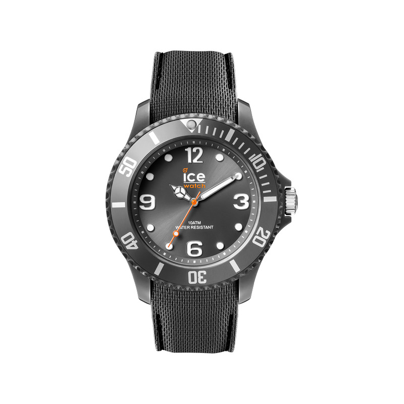 montre Ice Watch homme silicone anthracite