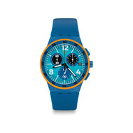 Montre Swatch homme chronographe silicone