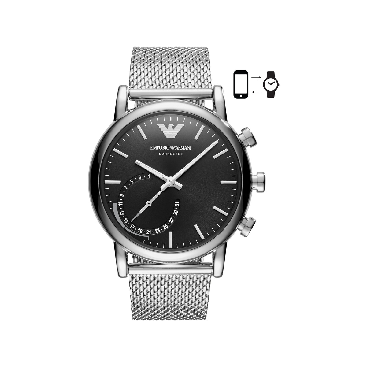 Montre Connect Homme. Comment Coupler La Montre Guess ...