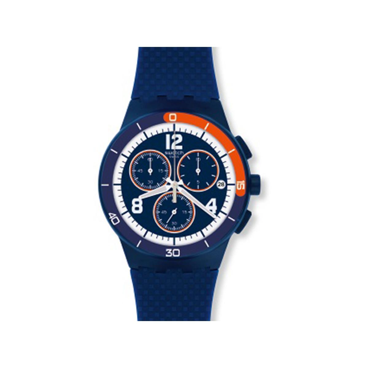833fac0794abb Montre Swatch mixte chronographe plastique - Femme, homme - modèle ...