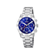 Montre Festina junior chronographe acier