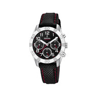Montre Festina junior chronographe acier nylon