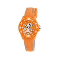Montre AM:PM Star Wars enfant plastique orange