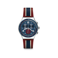 Montre Swatch College time mixte chrono acier