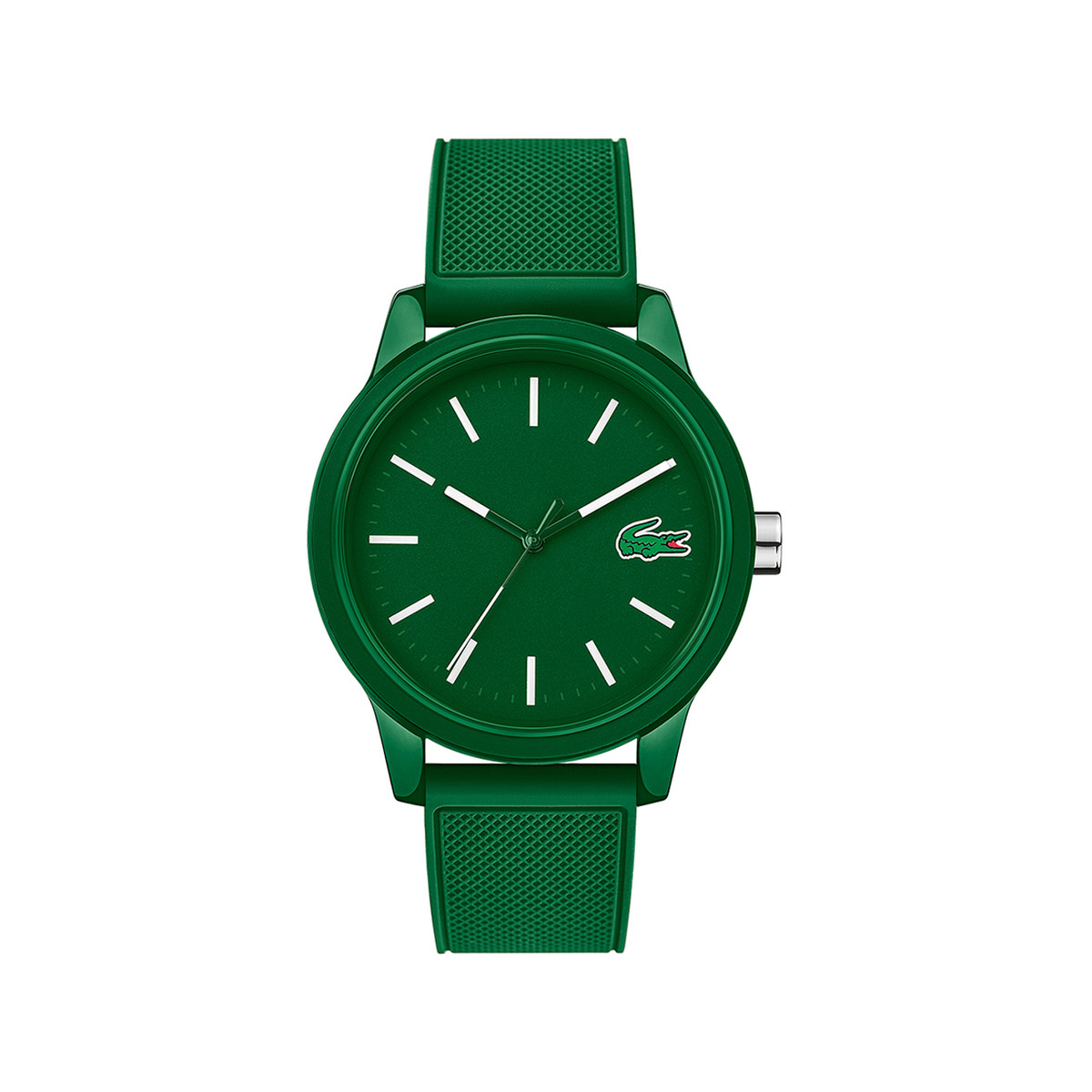 Vert Lacoste Resine Silicone Montre Mixte EH29ID