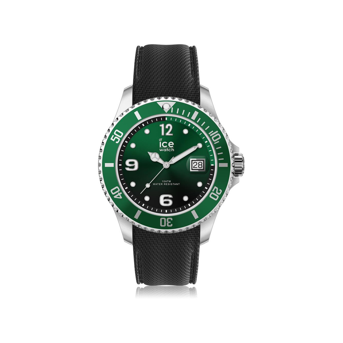 Vert Silicone Montre Homme Médium Watch Ice 4q3ARL5j