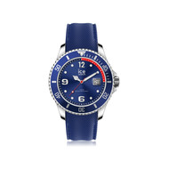 Montre Ice-Watch homme médium silicone bleu