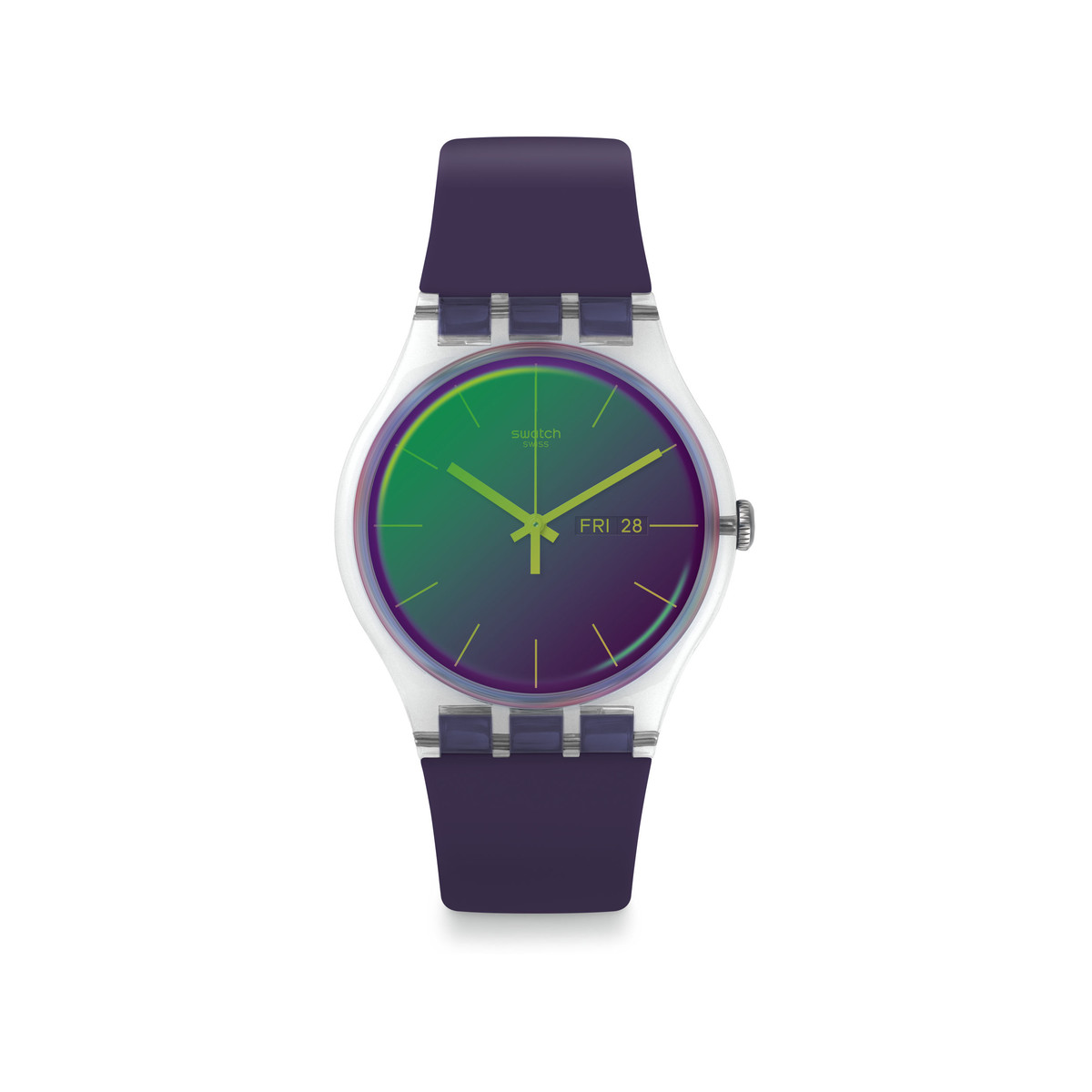 Montre Swatch Transformation plastique silicone - vue 1
