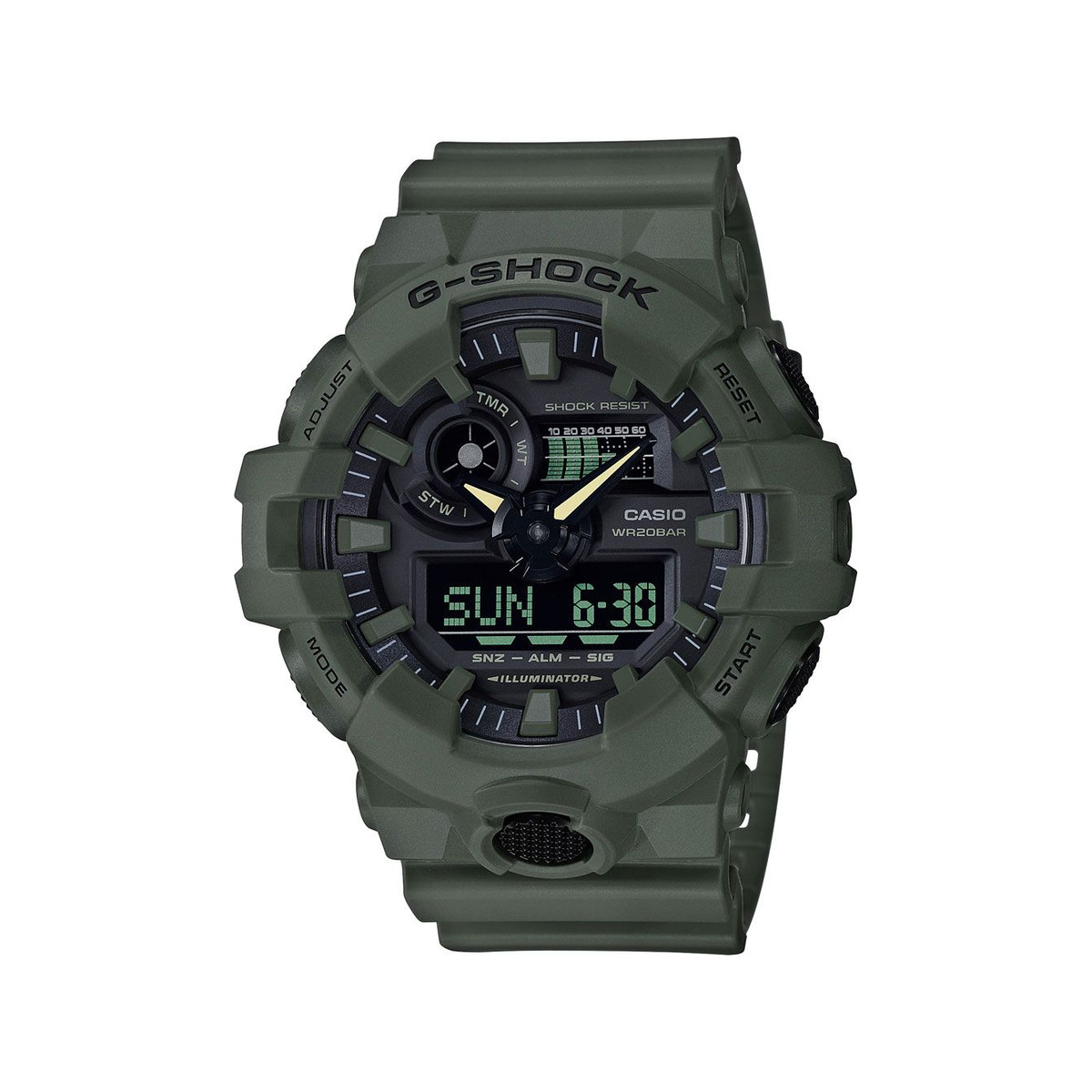 Montre Casio G-Shock homme digitale résine
