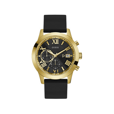 Montre GUESS MENS DRESS ATLAS Bracelet Silicone - vue V1