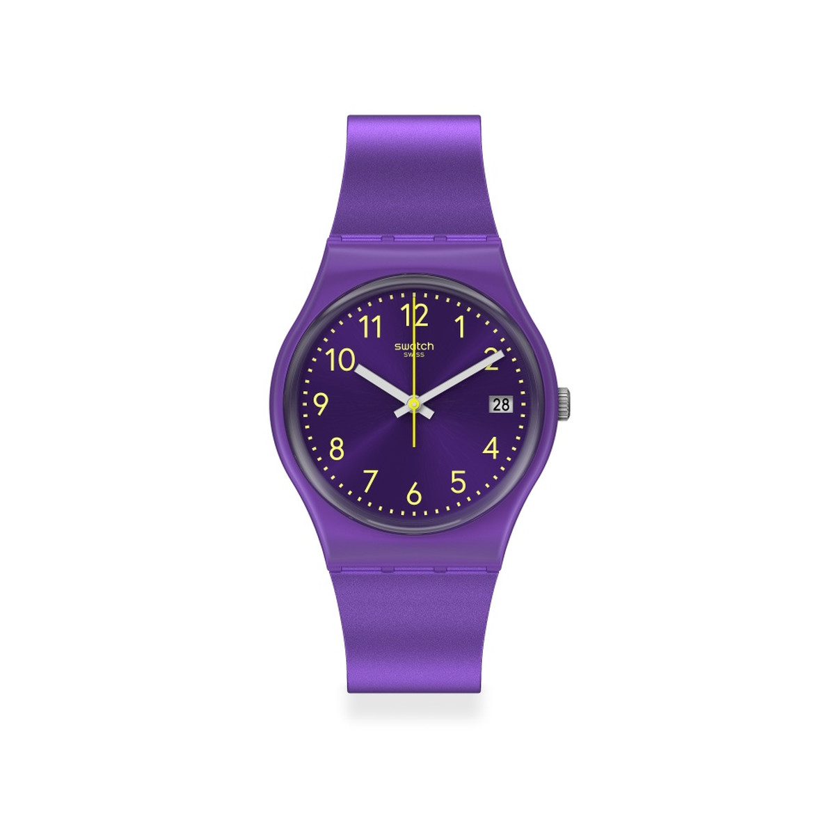 Montre SWATCH ESSENTIALLY Bracelet Silicone - vue 1