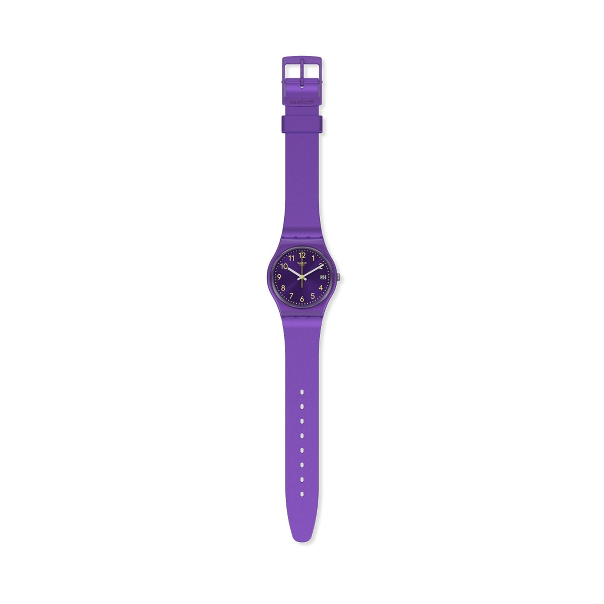 Montre SWATCH ESSENTIALLY Bracelet Silicone - vue D1