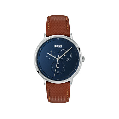 Montre HUGO BUSINESS Bracelet Cuir - vue V1