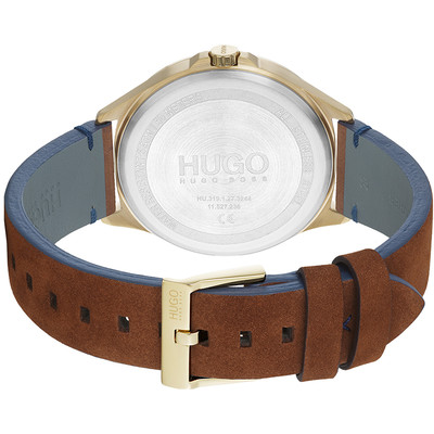 Montre HUGO BUSINESS Bracelet Cuir - vue V3