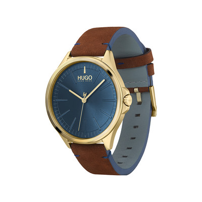 Montre HUGO BUSINESS Bracelet Cuir - vue V4