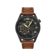 Montre AVI 8 HAWKER HARRIER II Bracelet Cuir