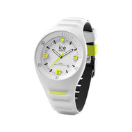 Montre Ice Watch homme médium silicone blanc