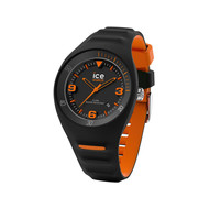 Montre Ice Watch homme médium silicone noir