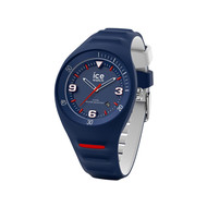 Montre Ice Watch homme médium silicone bleu