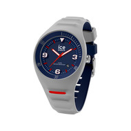 Montre Ice Watch medium homme plastique silicone gris