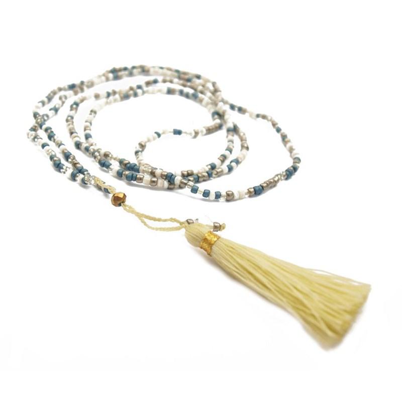 collier de perle long