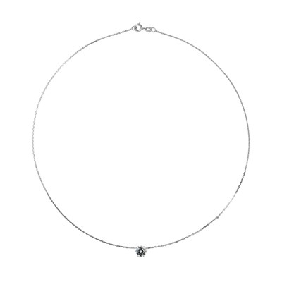 Collier Solitaire - STELLA - Collection LOVE JEWELRY - vue V1