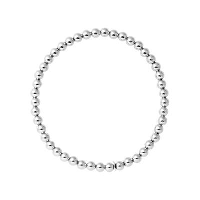 bracelet argent femme boule