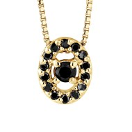 Collier Diamant - Or Jaune 9 Carats
